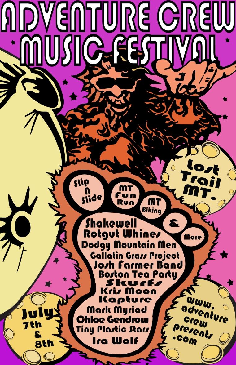 Adventure Crew Music Festival Event Poster [4]